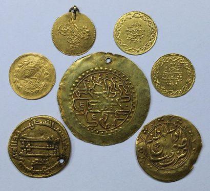 Monnaies islamiques. Divisionnaires : Turquie,...