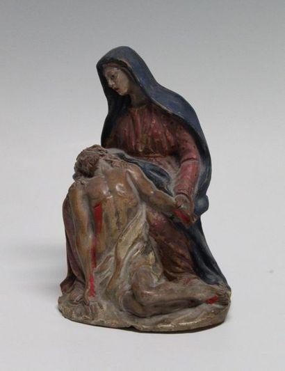 ANTIBELLI RELIGIEUX - PIETA Provence - XIXème...