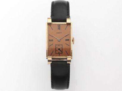 KODY  Montre bracelet d'homme en or 750 millièmes,...
