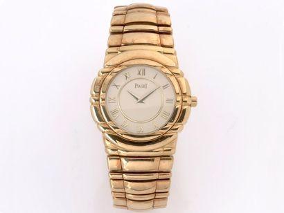 PIAGET  Montre bracelet d'homme en or 750...