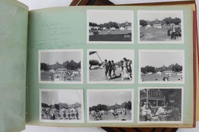 MILITARIA  CAMBODGE, 1952 - 1954    362 photographies réalisées et/ou réunies en...