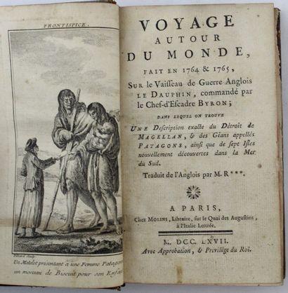 BYRON. Voyage autour du monde, fait en 1764...