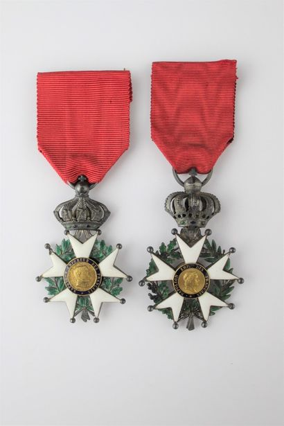 FRANCE  ORDER OF THE LEGION OF HONOUR  TWO...