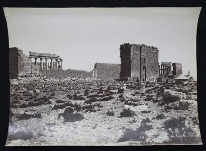 BONFILS Félix (1831 1885).  SYRIE : DAMAS & PALMYRE vers 1867. 14 épreuves sur papier...