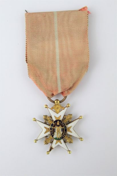 FRANCE  ORDER OF SAINT LOUIS  A slightly...