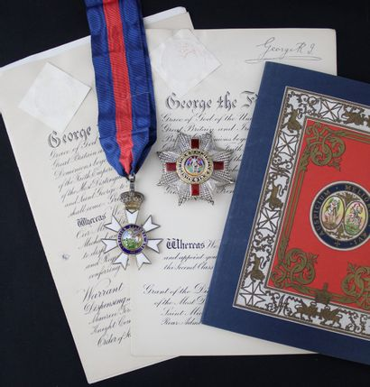 GREAT BRITAIN  ORDER OF SANT MICHEL AND SAINT...
