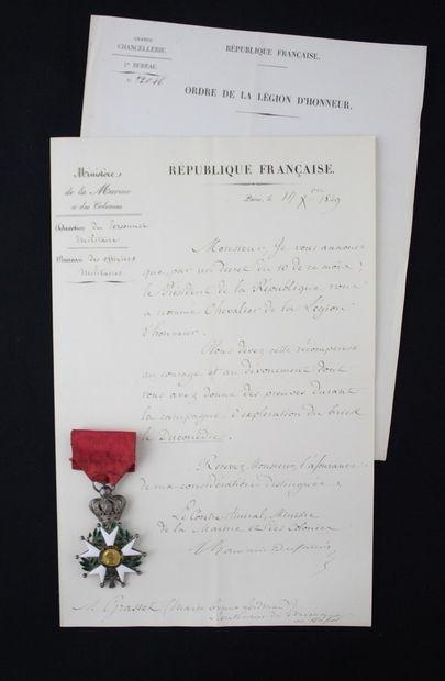 FRANCE  ORDER OF THE LEGION OF HONOUR  ETOILE...