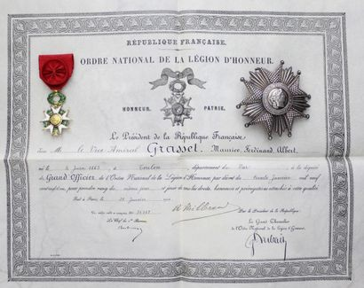FRANCE  ORDER OF THE LEGION OF HONOR  SET...