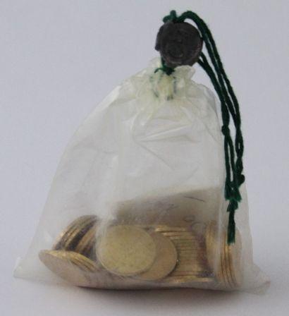 50 PIECES DE 20 FRANCS FRANCAIS OR sous...