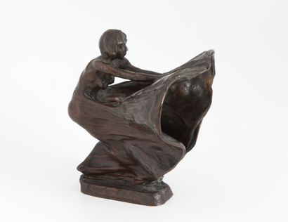 Rupert CARABIN (1862 -1932) Rupert CARABIN (1862 -1932)  Loïe Fuller  Etude pour...