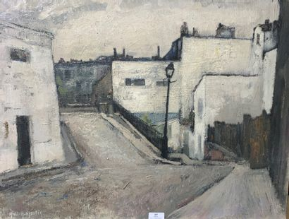 Henri-André MARTIN (1918-2004)  Impasse trainée...