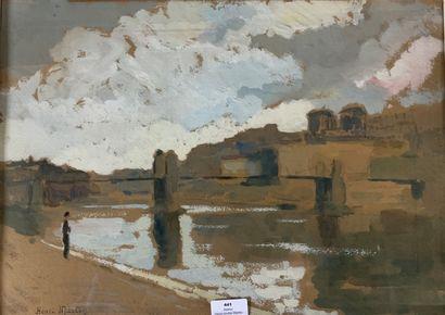 Henri-André MARTIN (1918-2004)  Lyon, les...