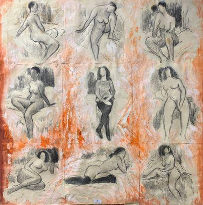 Henri-André MARTIN (1918-2004)  Neuf études...