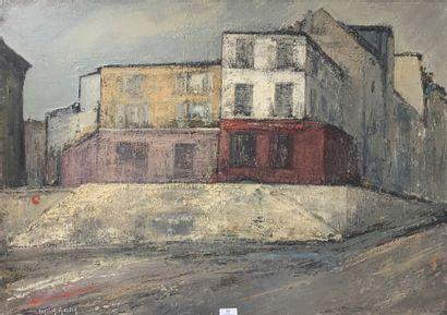 Henri-André MARTIN (1918-2004)  Paris  Toile...