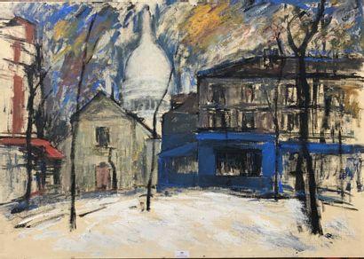 Henri-André MARTIN (1918-2004)  Paris - Le...