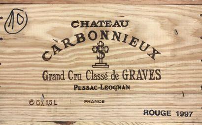 6 Magnums CHÂTEAU CARBONNIEUX - Graves  Année...