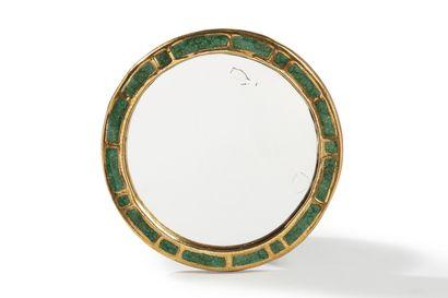 Mithé ESPELT (1923-2020)  Miroir  Céramique...