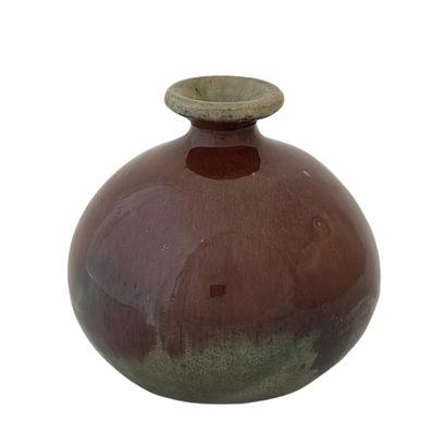 Pierre DEVIE (1938)  Vase boule 1965  Céramique...