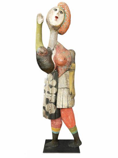 Roger CAPRON (1922-2006)  Sculpture la grande...