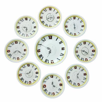 Roger CAPRON (1922-2006)  Service horloge...