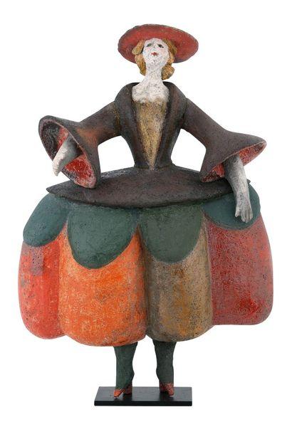 Roger CAPRON (1922-2006)  Femme provençale...