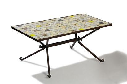 Mado JOLAIN (1921-2019)  Table basse rectangulaire...