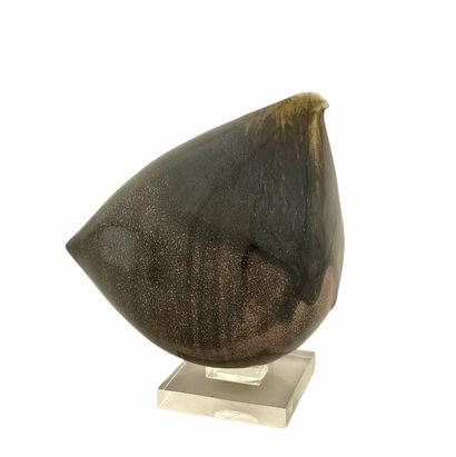 Roger COLLET (1933-2008)  Sculpture poule...