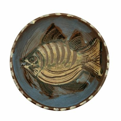 Albert THIRY (1932-2009)  Coupelle, poisson...