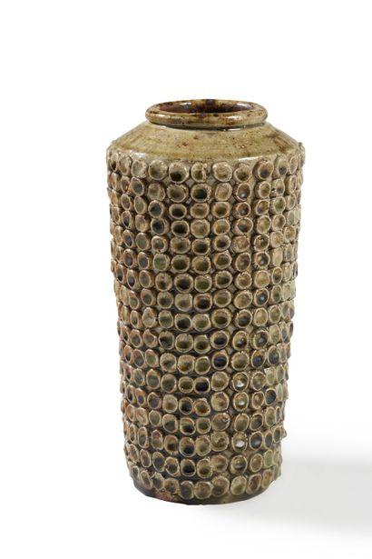 Jean LERAT (1913-1992)  Vase pastilles 1953...