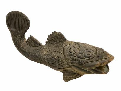 Jean MARAIS (1913-1998)  Sculpture poisson...