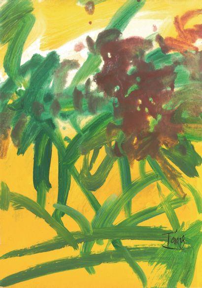 T'ANG Haywen (1927-1991) - Végétation - 1969...