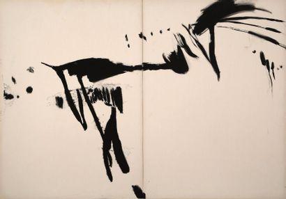 T'ANG Haywen (1927-1991) - Composition en...