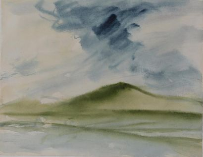 T'ANG Haywen (1927-1991) - Paysage - Circa...