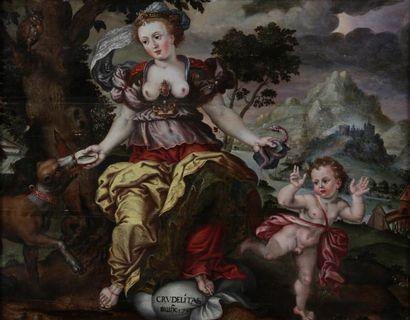 D'après MARTEN DE VOS (1532-1603), ECOLE...