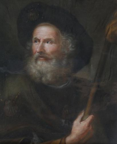 ECOLE du XVIIIème-XIXème Siècle  Portrait...