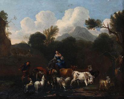 Michel CARRE (La Haye 1657-Alkmaar 1727 ou...