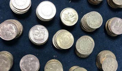 LOT DE 100 pièces en or 20 Francs  Marianne...