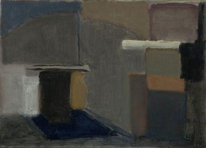 Geneviève ASSE (1923)  Composition  Huile...