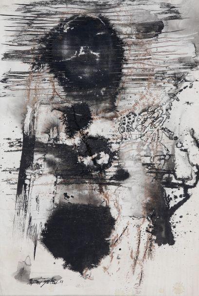 Paul JENKINS (1923-2012)  Sans titre, 1954...