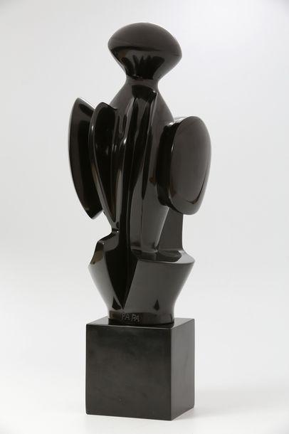 Maria PAPA ROSTKOWSKA (1923-2008)  Guerrier...