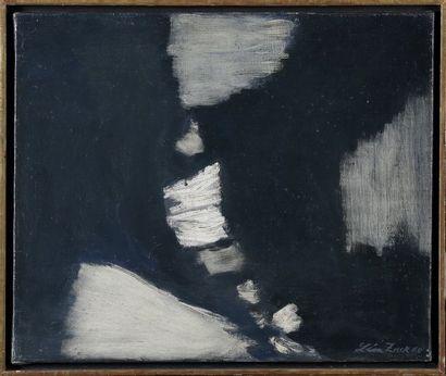 Léon ZACK (1892-1980)  Composition  Huile...
