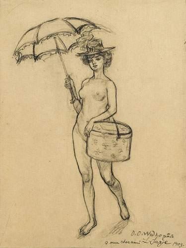 David Osipovitch WIDHOPFF (1867-1933) Femme...