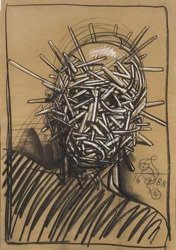 Franciszek STAROWIEYSKI (né en 1930) L'enfant...