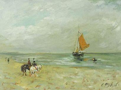 Leonid Petrovitch RUBTSOV Bord de plage....