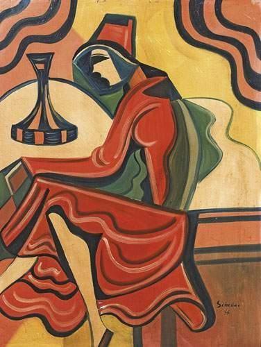Hugo SCHEIBER (1873-1950) Ecole HONGROISE...