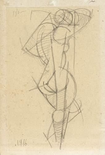 Liubov Sergeevna POPOVA (1889-1924) Composition....