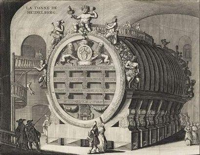 Ecole ALLEMANDE, XVIIème siècle La tonne...