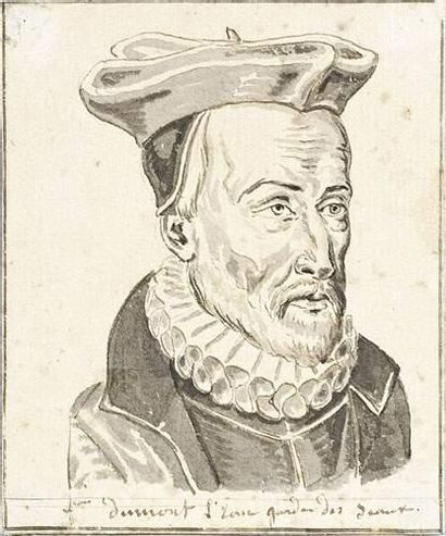 Ecole FRANCAISE, XVIème siècle. Portrait...