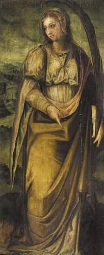 Luis de CARVAJAL (1534-1613) Sainte martyre...