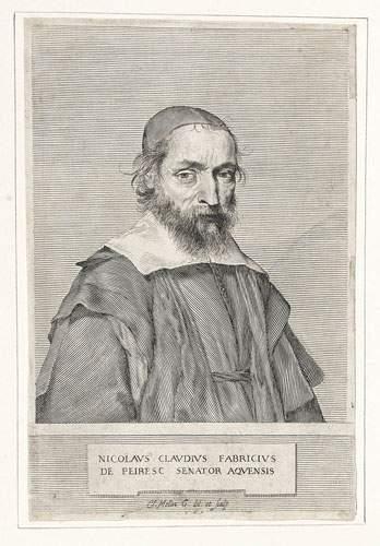 Claude MELLAN (1598-1688) Portrait du célèbre...